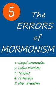 The Five Errors of Mormonism by Arlin E. Nusbaum