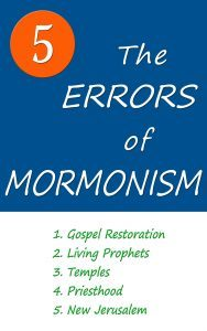 The Five Errors of Mormonism by Arlin E. Nusbaum